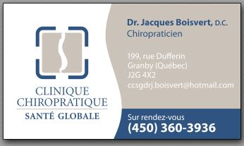 Clinique chiropratique Santé globale