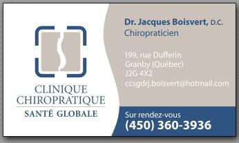 Clinique chiropratique Santé globale